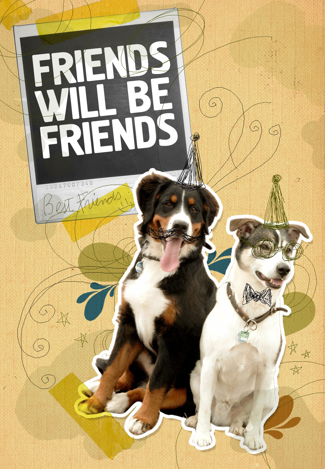Friends will be friends…